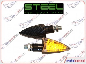Steel Led Carbon Sinyal