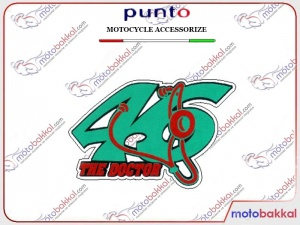 46 THE DOCTOR Punto Sticker Çıkartma