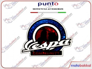 VESPA COMMUNİTY STİCKER