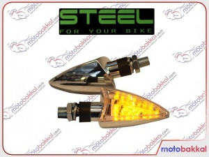 Steel Led Chrome Sinyal