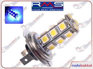 H7 Led Ampul Mavi 14 Led