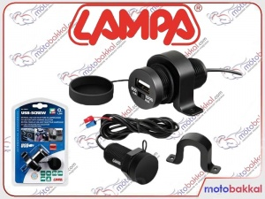 Lampa Usb-Screw Usb Şarj Soketi İzoleli