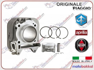 Vespa Primavera - Sprint - LX 150 ie 3V, Piaggio Liberty 150 - S i Get ABS Silindir Piston Komple Set