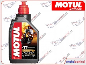 Motul Scooter Power 5w40 1Litre Motor Yağı