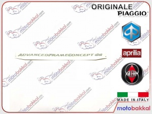 Gilera FXR 180 Runner Arka Panel Yazısı Sticker