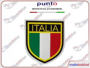 ITALIA Bayrak Sticker