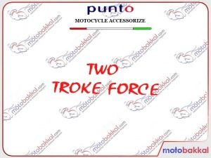Two Storke Force Sticker Punto Sticker Çıkartma