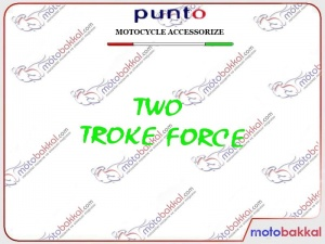 Two Storke Force Punto Sticker Çıkartma