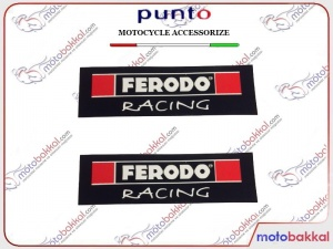 Ferodo Racing Punto Sticker Çıkartma