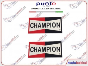 Champion Punto Sticker Çıkartma