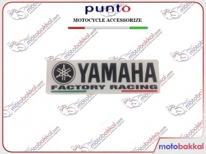 Yamaha Factory Racing Punto Sticker Çıkartma