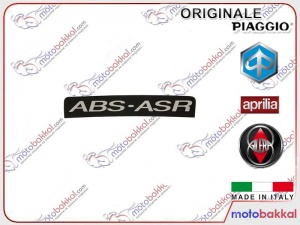 Vespa GTS 150 Abs Panel Sticker Etiket