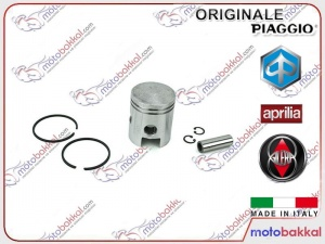 Piaggio Fly  Vespa LX - 946 - Sprint 125 3V ie Silindir Piston Komple Set